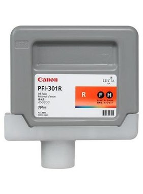 Canon Pigment Ink 330ml Red PFI-301R
