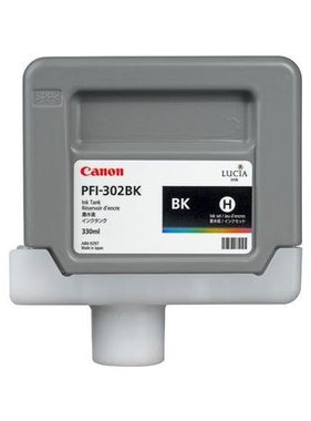 Canon Pigment Ink 330ml Black PFI-302BK