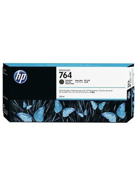 HP 764 Matzwart Designjet inktcartridge 300 ml