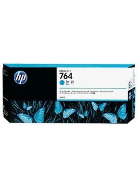 HP 764 Cyaan Designjet inktcartridge 300 ml