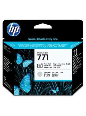 HP 771 printkop foto zwart en licht grijs