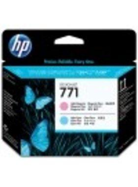 HP 771 printkop licht magenta en licht cyaan