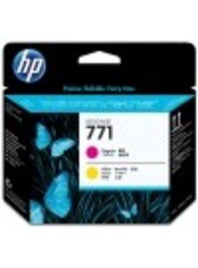 HP 771 printkop magenta en geel