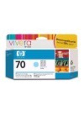 HP 70 licht-cyaan inktcartridge 130 ml