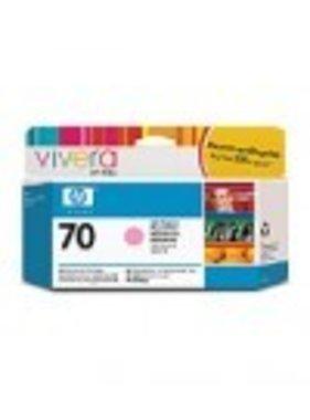 HP 70 licht-magenta inktcartridge 130 ml