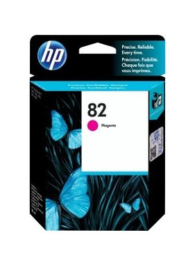 HP 82 magenta inktcartridge 28 ml