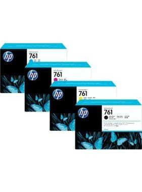 HP 761 cyaan Designjet inktcartridge 400 ml