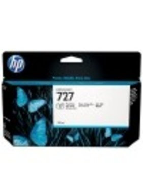 HP 727 zwarte Designjet fotoinktcartridge 130 ml