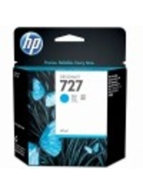 HP 727 cyaan Designjet inktcartridge 40 ml