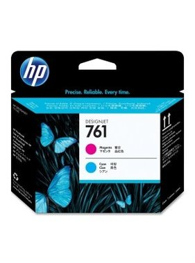 HP 761 magenta/cyaan Designjet printkop