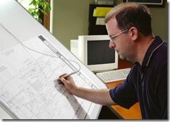 digitaliseren van een bouwtekening