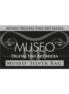 Canon MU101 MUSEO Silver Rag C sheets 25x300g/m
