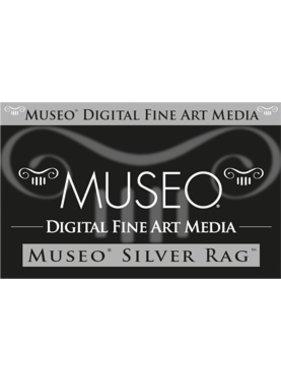 Canon MU101 MUSEO Silver Rag D sheets 25x300g/m