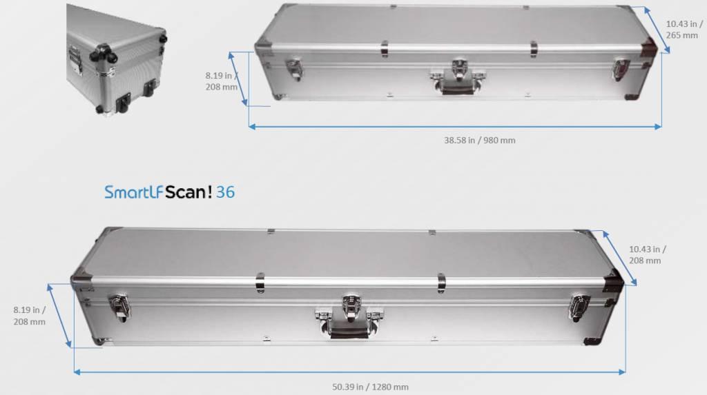 Colortrac SmartLF Scan! 36 inch draagbare grootformaat scanner