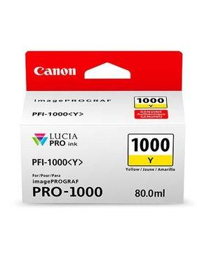 Canon PFI-1000Y Geel 80ml