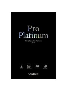 Canon Photo Pap Pro Platinum, A3 - 297 mmx420 mm