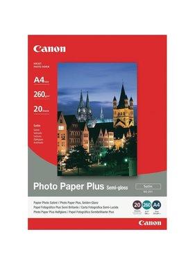 Canon Photo Pap Plus SG-201, A4 - 210 mmx297 mm,