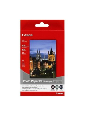 Canon Photo Pap Plus SG-201, 100 mmx150 mm, 260g