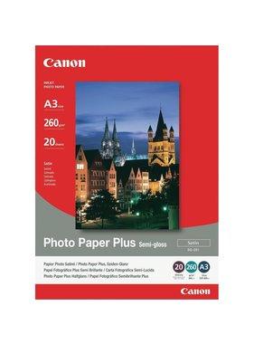Canon Photo Pap Plus SG-201, A3 - 297 mmx420 mm,