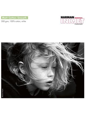 Harman by Hahnemuhle Matt Cotton Smooth 300g 1118mmx15m