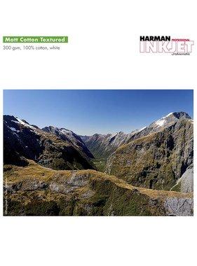 Harman by Hahnemuhle Matt Cotton Textured 300g vel A3+x30