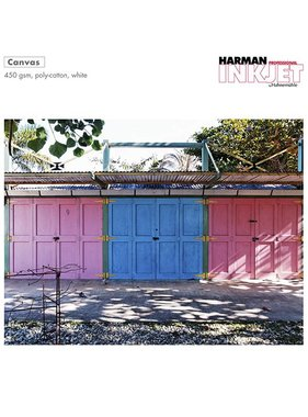 Harman by Hahnemuhle Polycotton Canvas 450g rol 432mmx15m