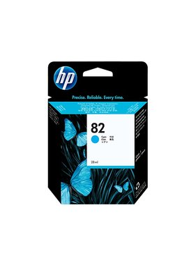 HP 82 cyaan inktcartridge 69 ml