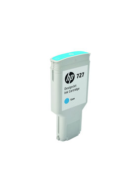 HP 727 cyaan Designjet inktcartridge 300 ml