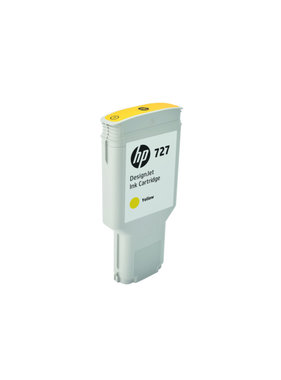 HP 727 geel Designjet inktcartridge 300 ml