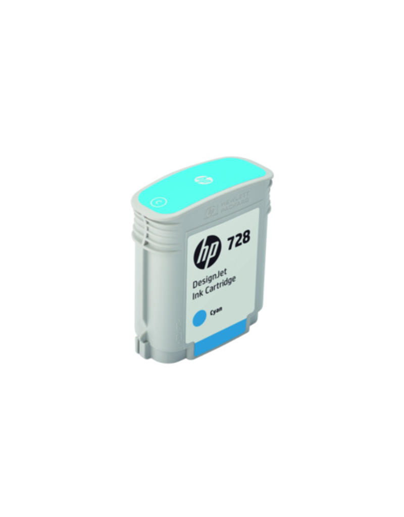 HP HP 728 40-ml cyaan Inkt Cartridge