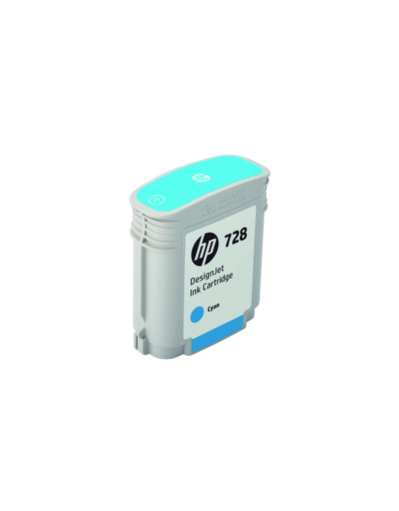 HP HP 728 40-ml cyaan Inkt Cartridge