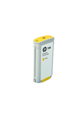 HP 728 130-ml geel Inkt Cartridge