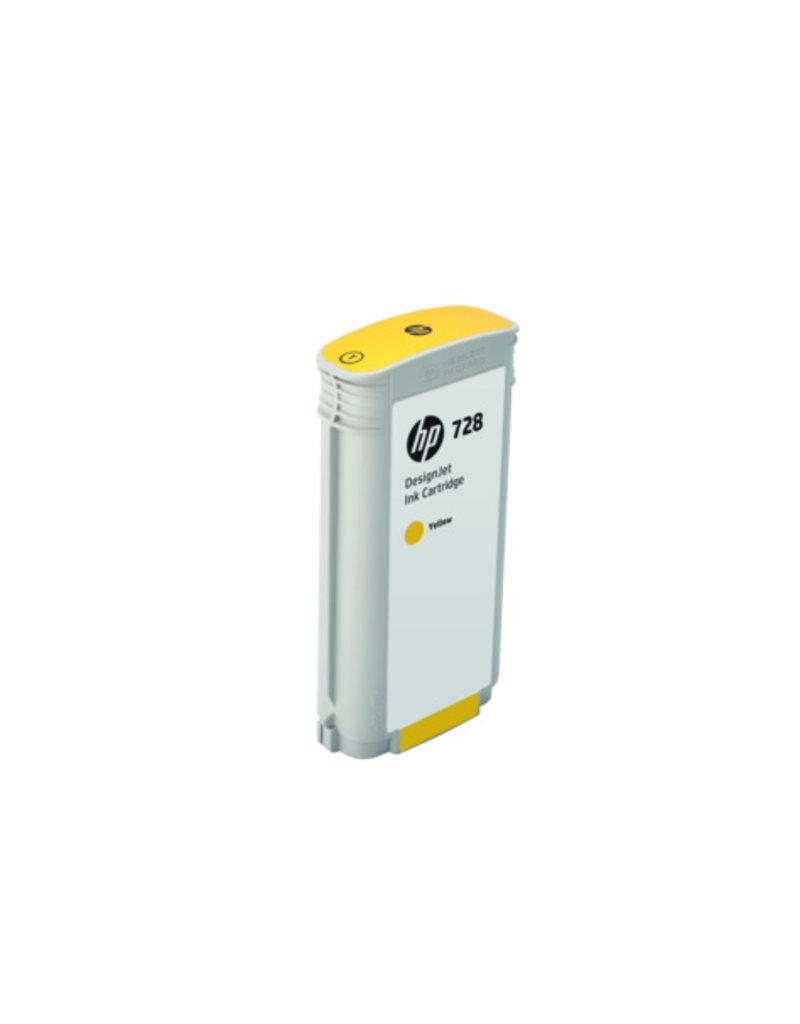 HP HP 728 130-ml geel Inkt Cartridge
