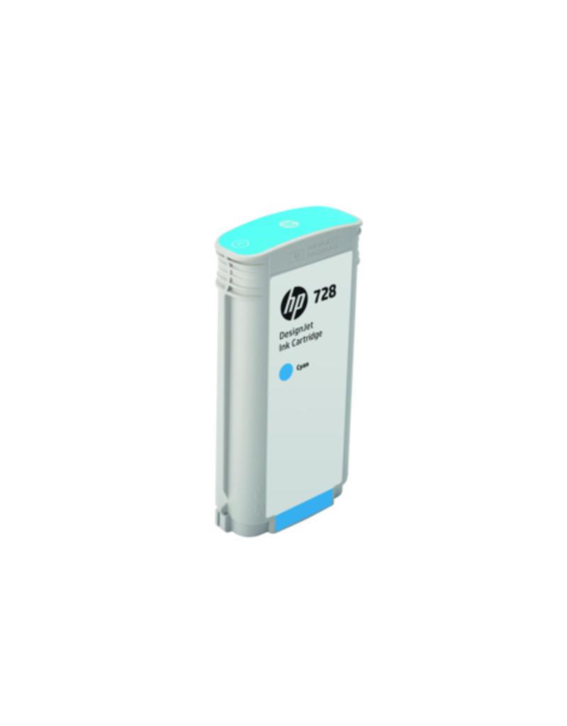 HP HP 728 130-ml cyaan inkt Cartridge