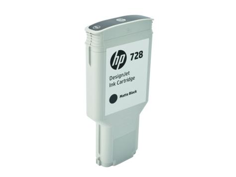 HP HP 728 300-ml matzwart inkt Cartridge