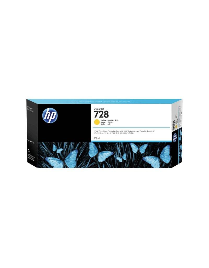 HP HP 728 300-ml geel inkt Cartridge