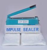 Sealer zakken 180x350mm  (10 stuks)