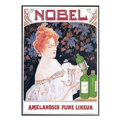 Poster Combinatie: Brigadier Smit, Amelandsch Fijne Likeur & Nobeltje Spreuk