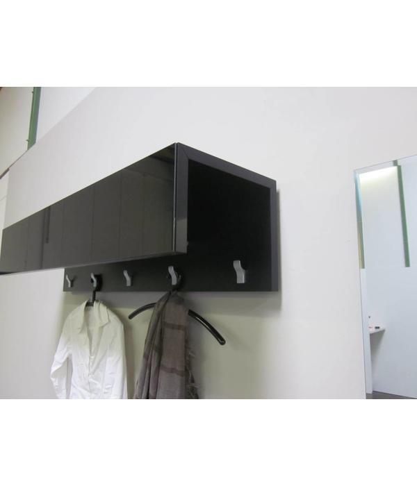 Gro e marken zu kleinen preisen bei restposten for Garderobe schwarz
