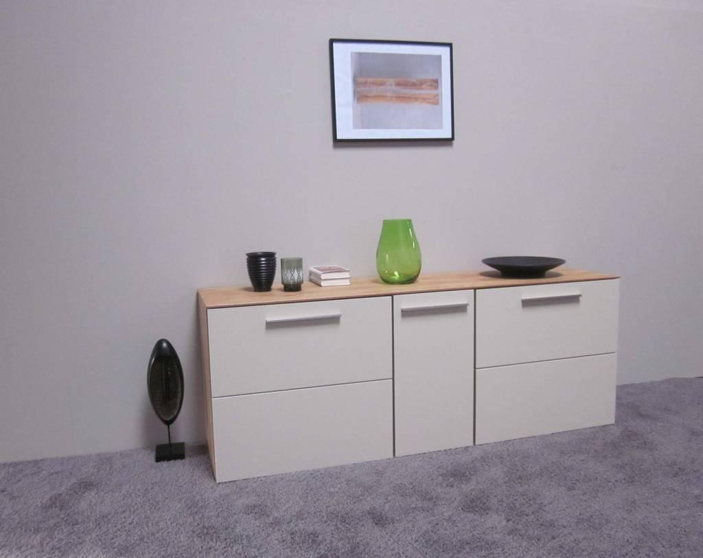 holtkamp sideboard wildeiche creme restposten moebel. Black Bedroom Furniture Sets. Home Design Ideas