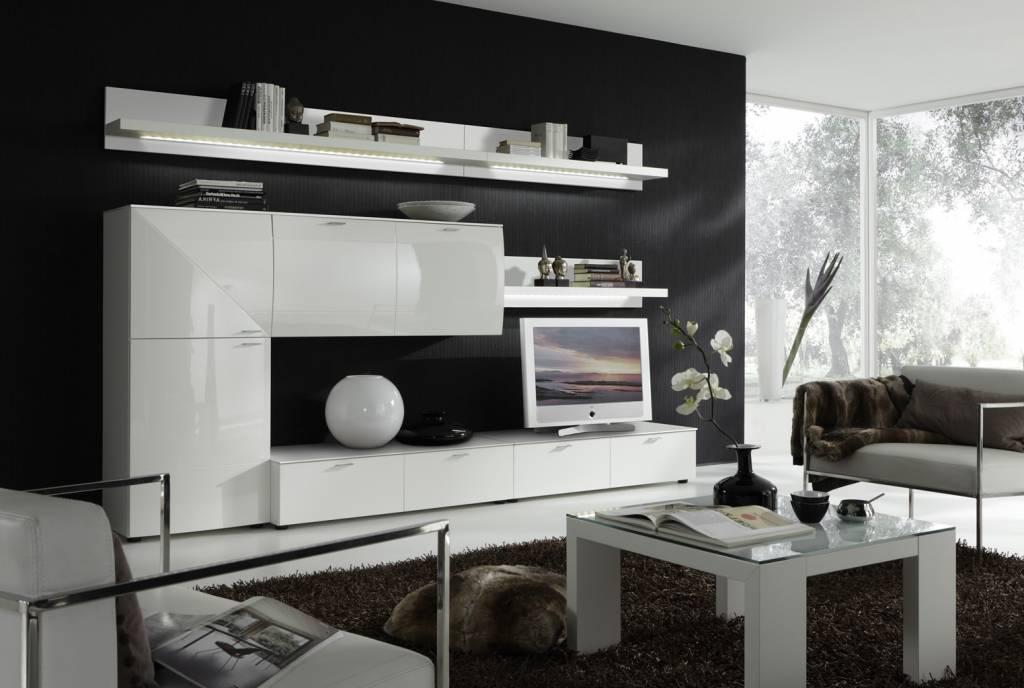 yarial = wohnwand weiß hochglanz ersatzteile ~ interessante, Gestaltungsideen