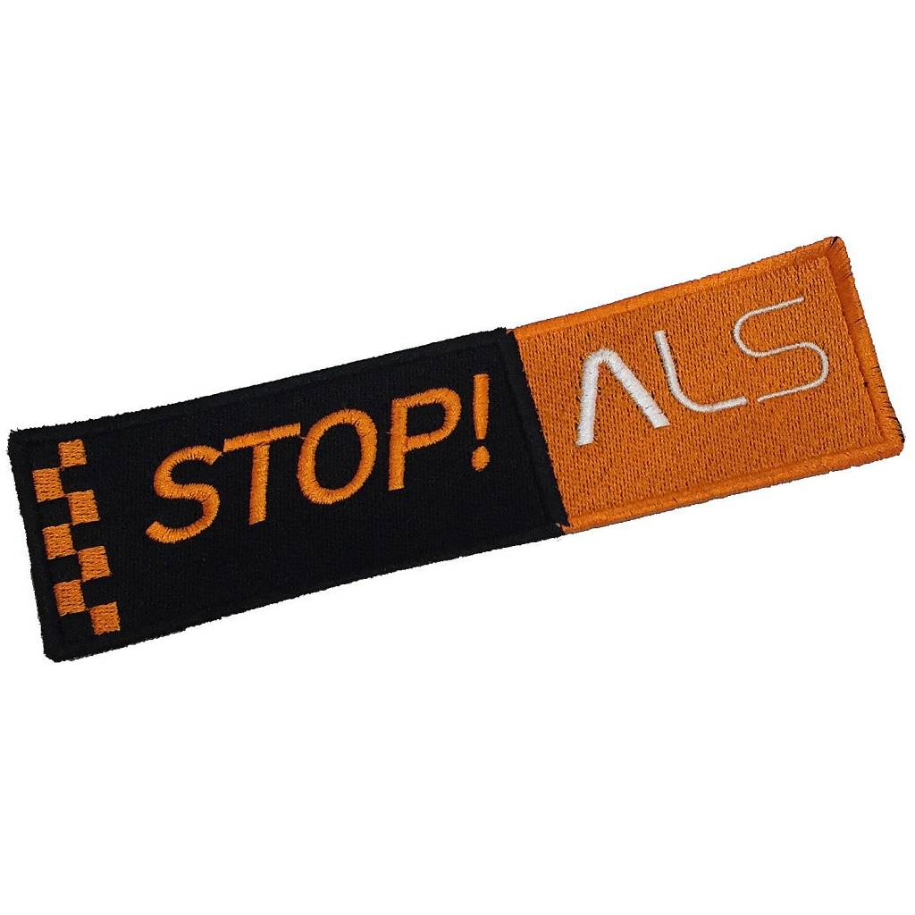 STOP ALS Badge