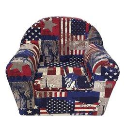 Kinderfauteuil Peuterstoeltje America Design