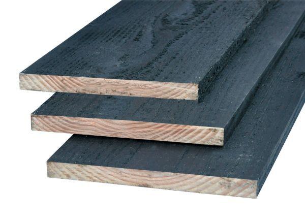 Plank 2x gespoten 22x250x4000mm