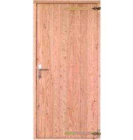 Opgeklampte deur enkel onbehandeld