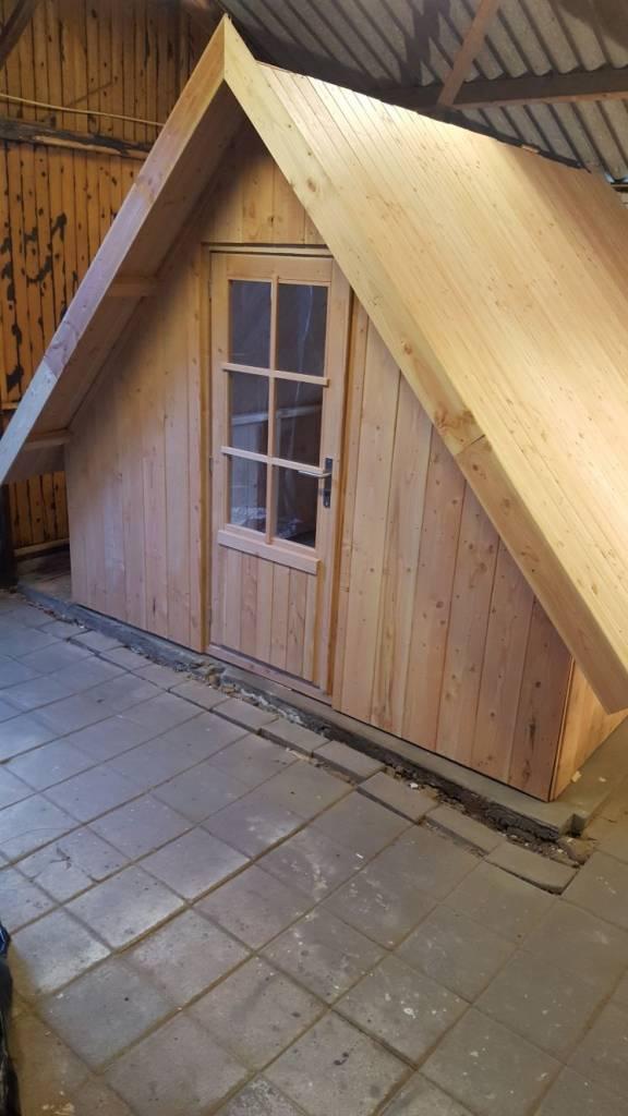 tuinhuis blokhut recreatieverblijf sauna schuur