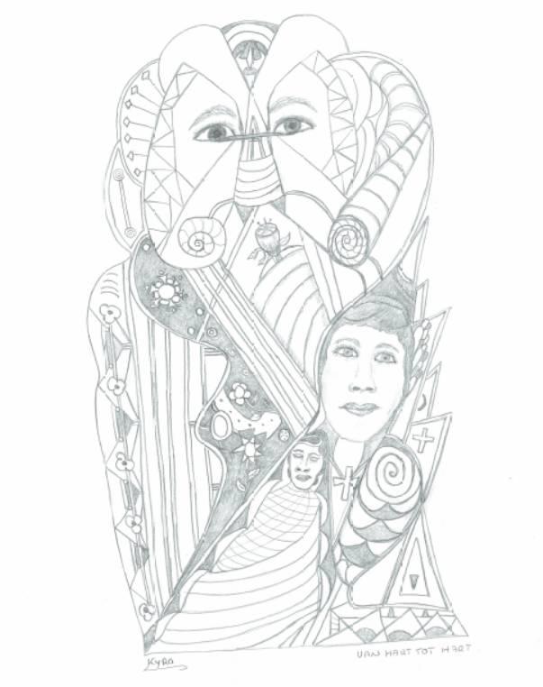 Interactieve tekening voor bewustzijn | 01 print