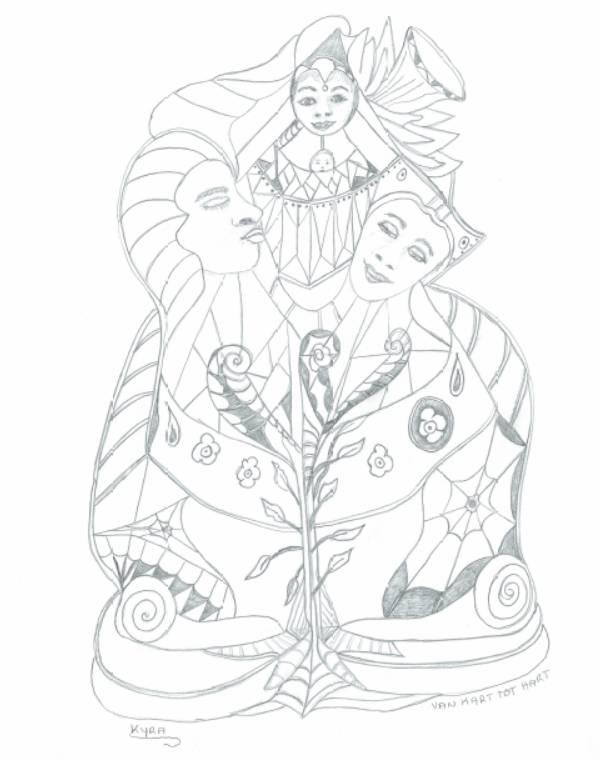 Interactieve tekening voor bewustzijn | 05 print