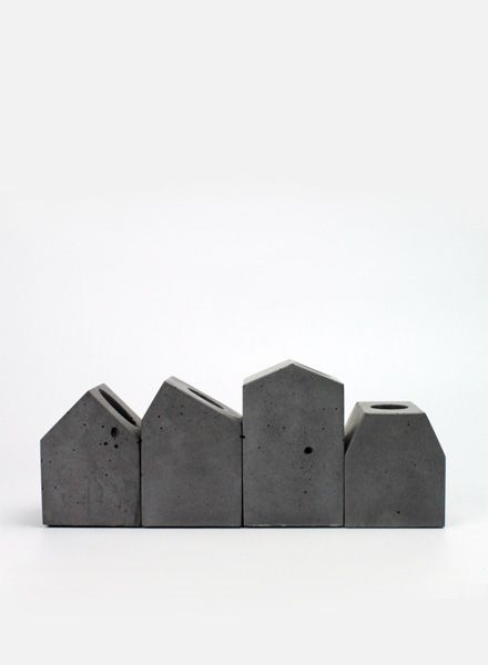 Lalupo Betonbude Set I Kerzenhalter