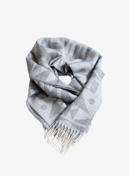 Sike Schal: Sike Schal für Damen und Herren in schwarz